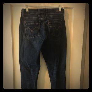 Levi's Black Label Skinny Leg 529 jeans